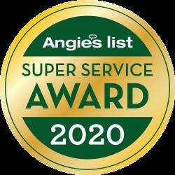 Angie's List 2020 Award Winner