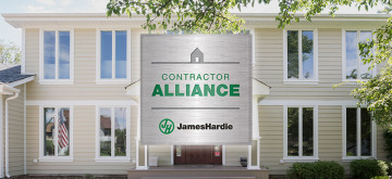 JD Hostetter Earns Presidential Award from James Hardie Siding Company