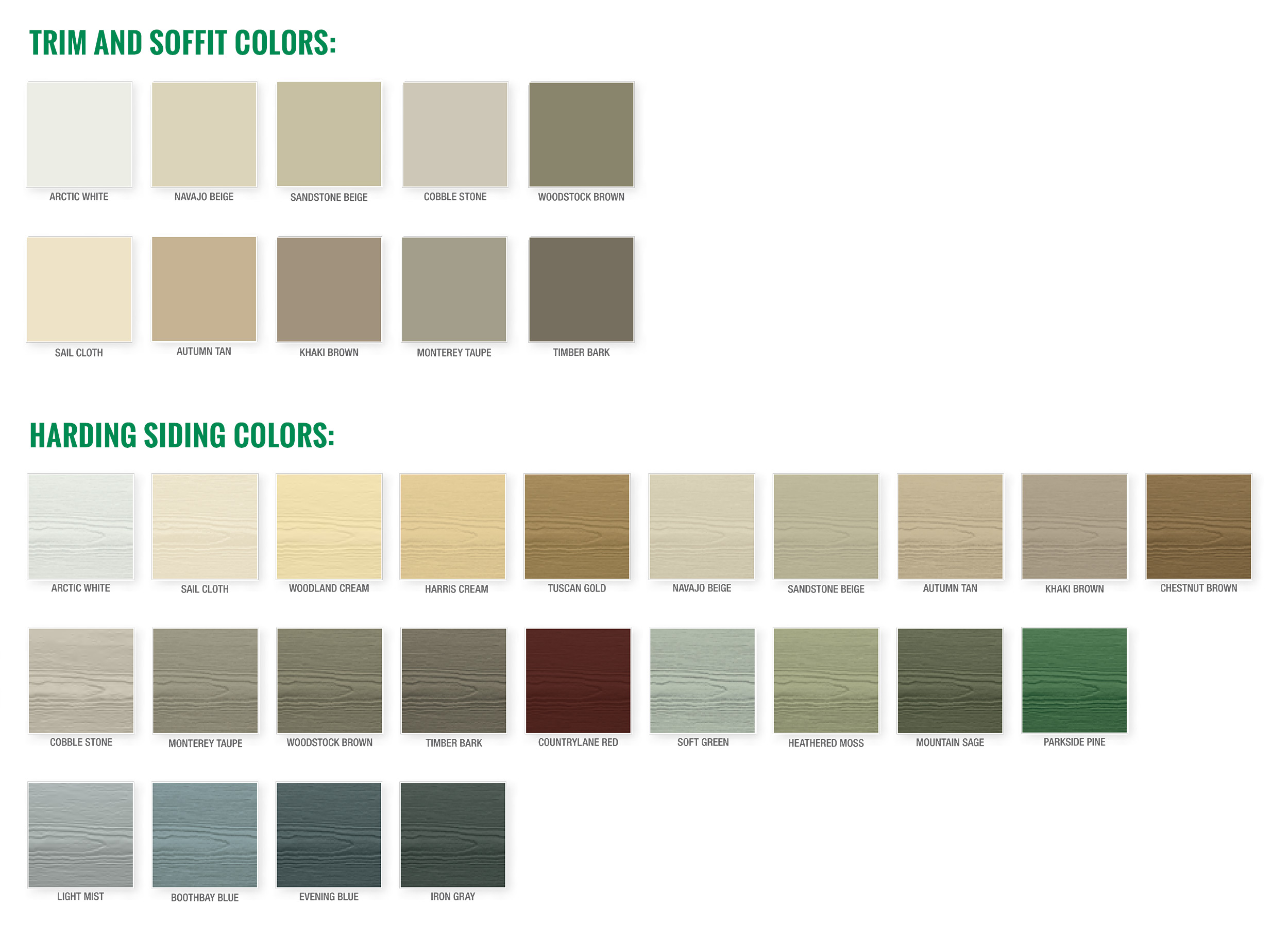 James Hardie Products Amp Colors Jd Hostetter